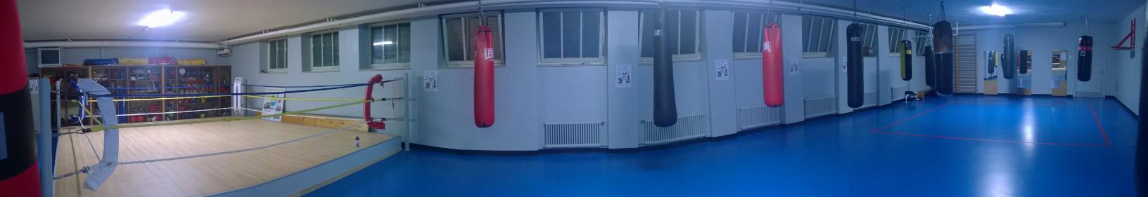 Vue panoramique de notre salle d'entrainement